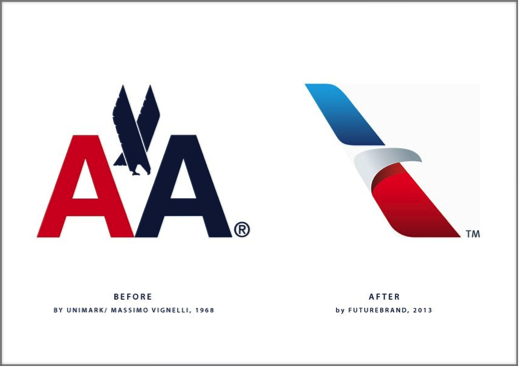 Corporate Logo of American Airlines