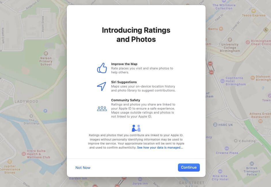 new apple local reviews and ratings system ios 14